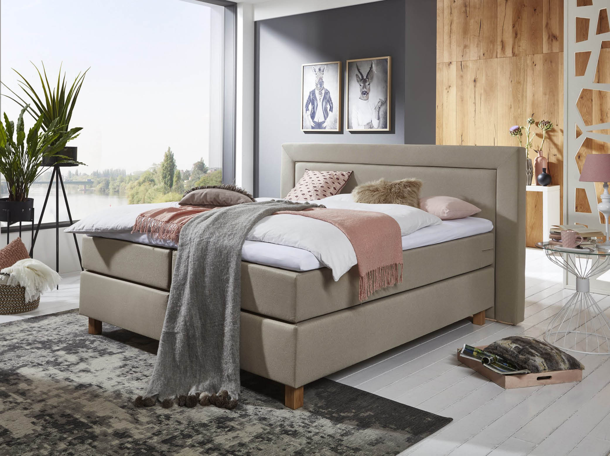 Electrische Boxspring Lounge XL